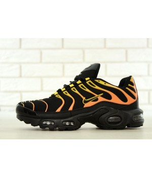 Мужские кроссовки Nike Air Max TN Plus Black/Orange/Yellow