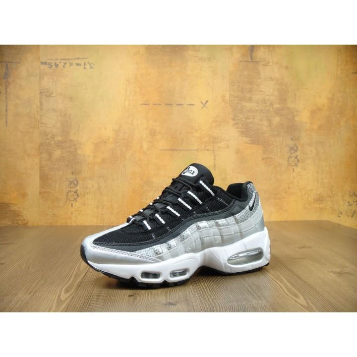 Мужские кроссовки Nike Air Max 95 Silver/Black