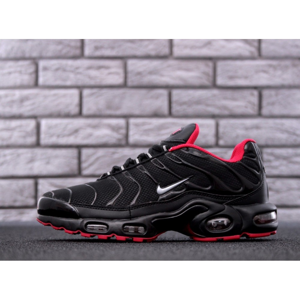 66b04bb3 Мужские кроссовки Nike Air Max TN Plus Black/Red 11541 от бренда ...