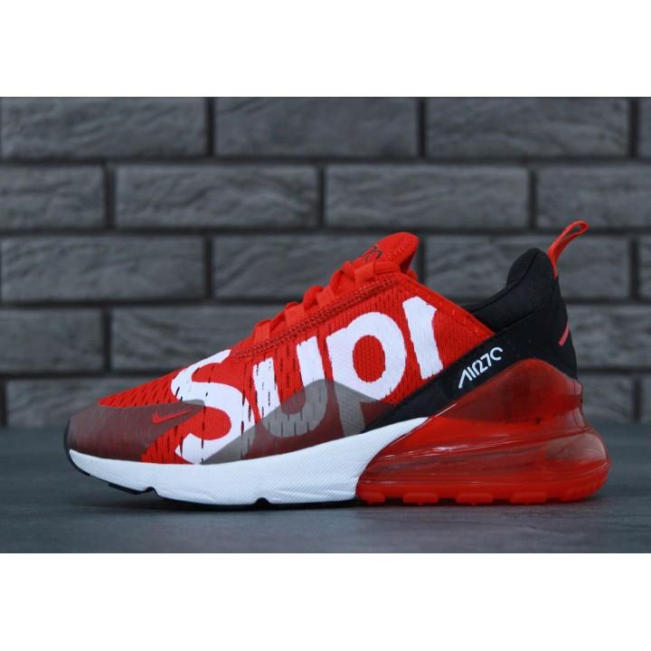 Мужские кроссовки Nike Air Max 270 SUPREME RED