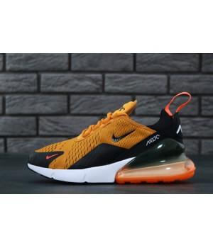 Мужские кроссовки Nike  Air Max 270 Orange/Black