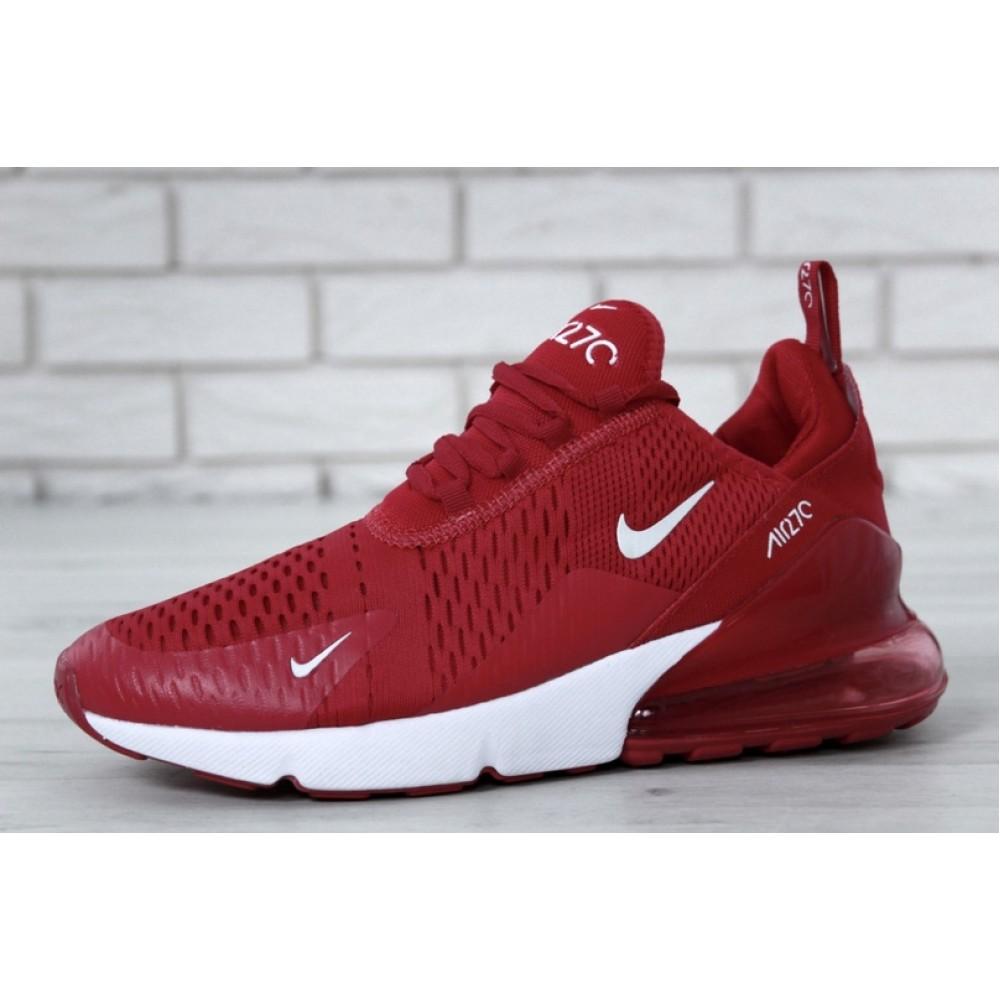 Мужские кроссовки Nike Air Max 270 Red 11601 от бренда Nike - купить ... 163e52b773b8d
