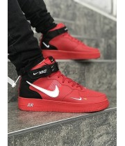 Мужские кроссовки Nike Air Force Red