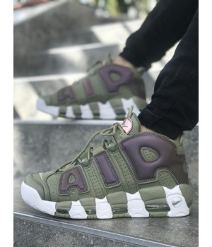 Мужские кроссовки Nike AIR MORE UPTEMPO GREEN