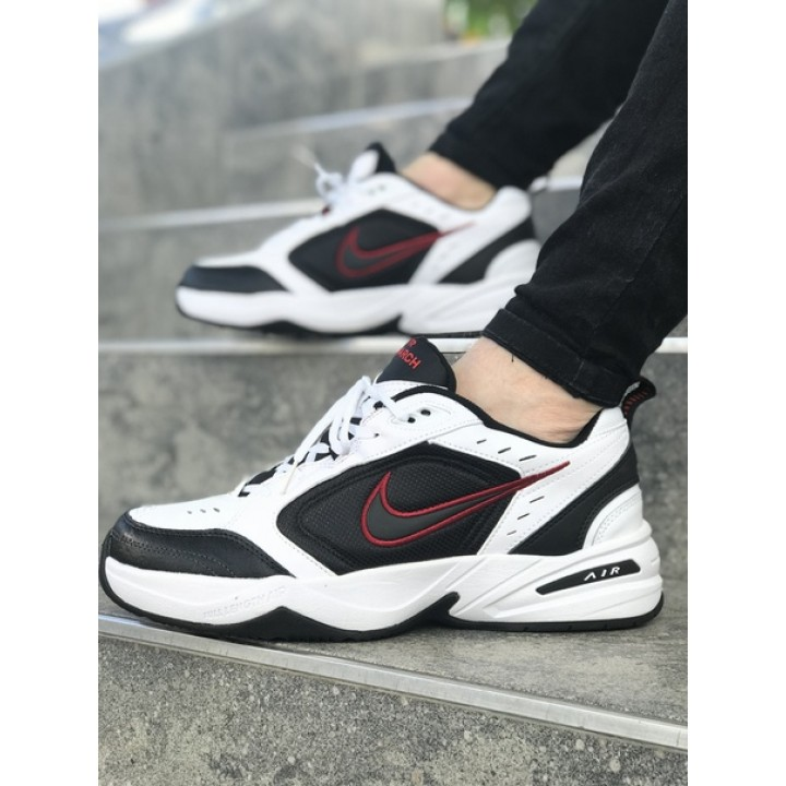 Мужские кроссовки NIKE MONARCH White/Black/Red