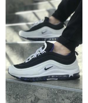 Мужские кроссовки Nike Air Max 97 White/Black/Blue