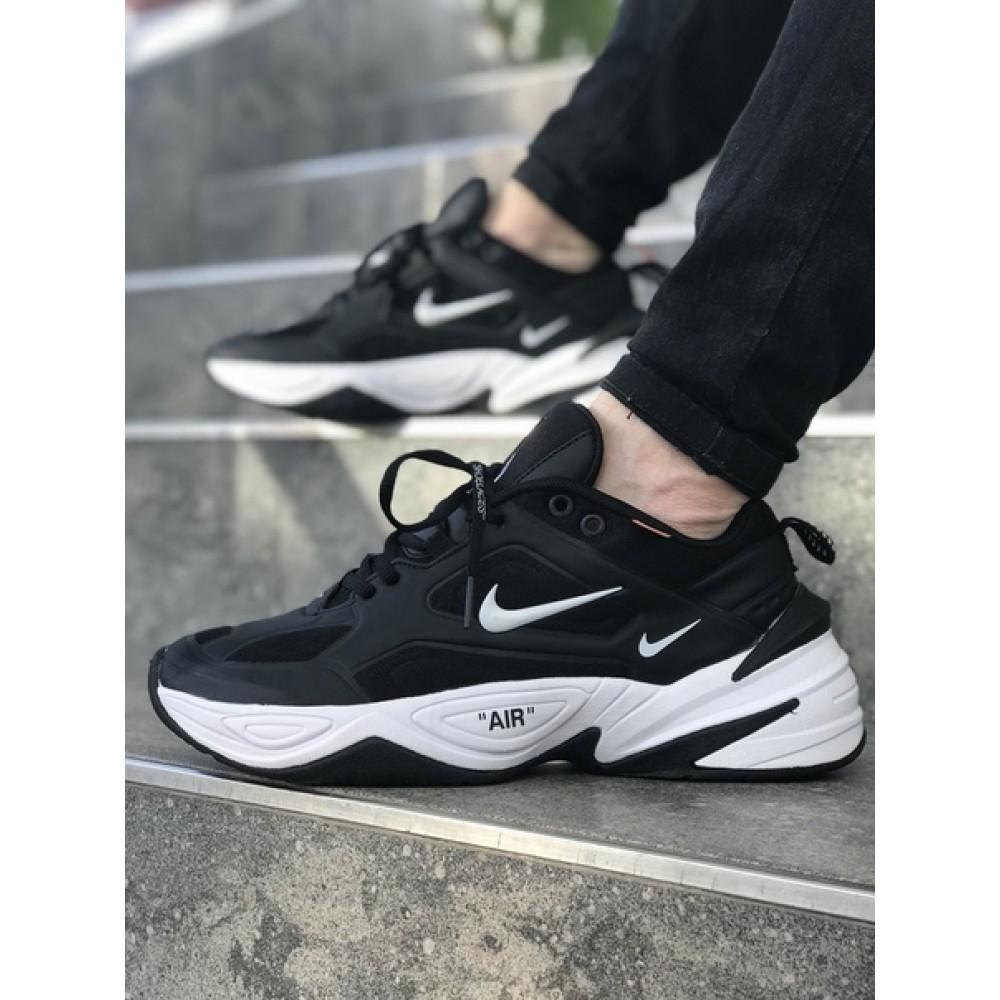4e7558ae Мужские кроссовки Nike M2K Tekno Black/White 1069 от бренда Nike ...