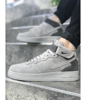 Мужские кроссовки Nike Air Force Grey