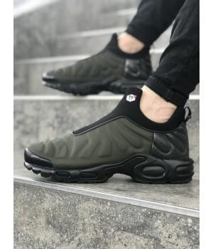 Мужские кроссовки Nike TN Slip Green/Black