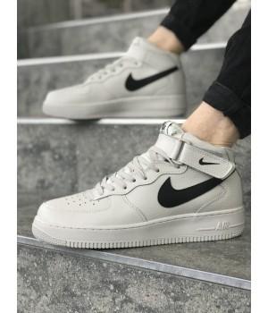 Мужские кроссовки Nike Air Force Beige