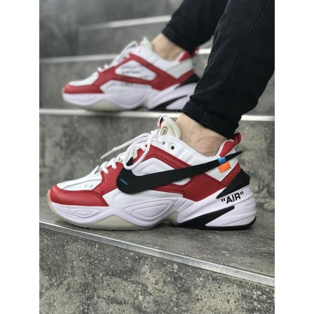 27cde6f0 Мужские кроссовки Nike M2K Tekno Black/White/Red 1057 от бренда Nike ...