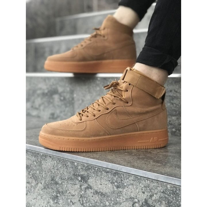 Мужские кроссовки Nike Air Force Brown