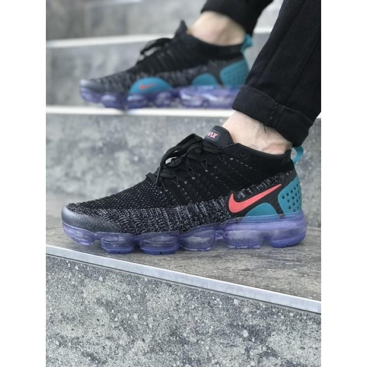 Мужские кроссовки Nike Vapormax Black/Blue/Pink