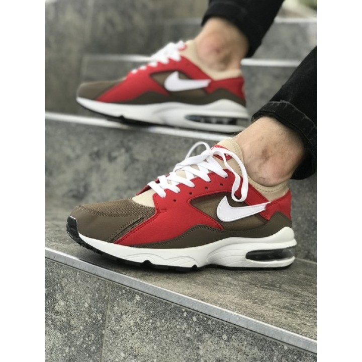 Мужские кроссовки Nike Air Max 93 Red/Brown
