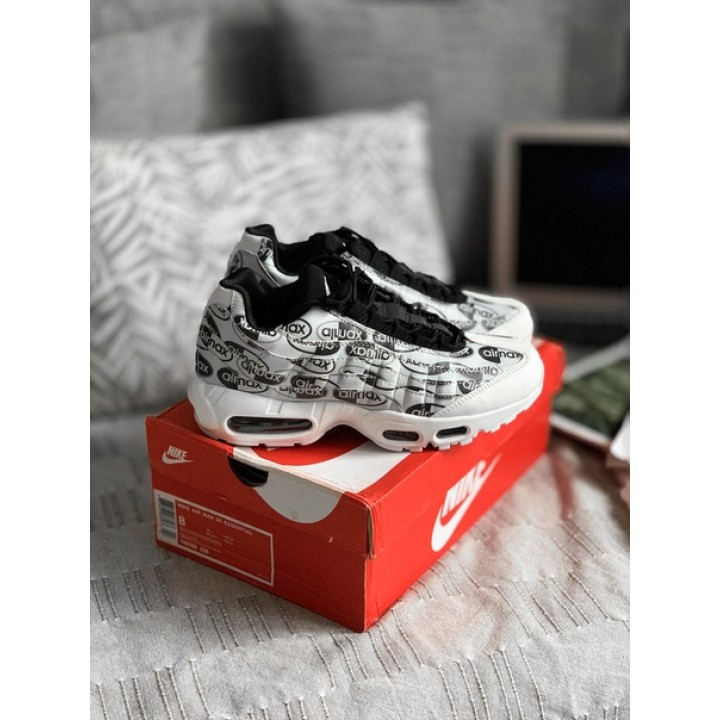Мужские кроссовки Nike Air Max 95 Just Do it Pack (White)