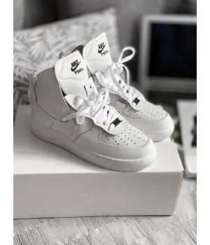 Мужские кроссовки Nike Air Force 1 High x PSNY White