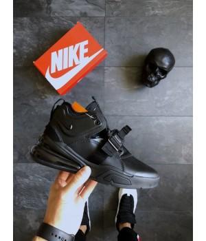 Мужские кроссовки Nike Air Force 270 Triple Black