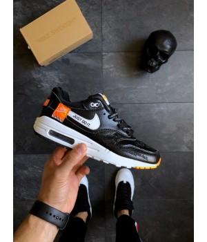 "Мужские кроссовки Nike Air Max 1 ""Just Do It"" Black"