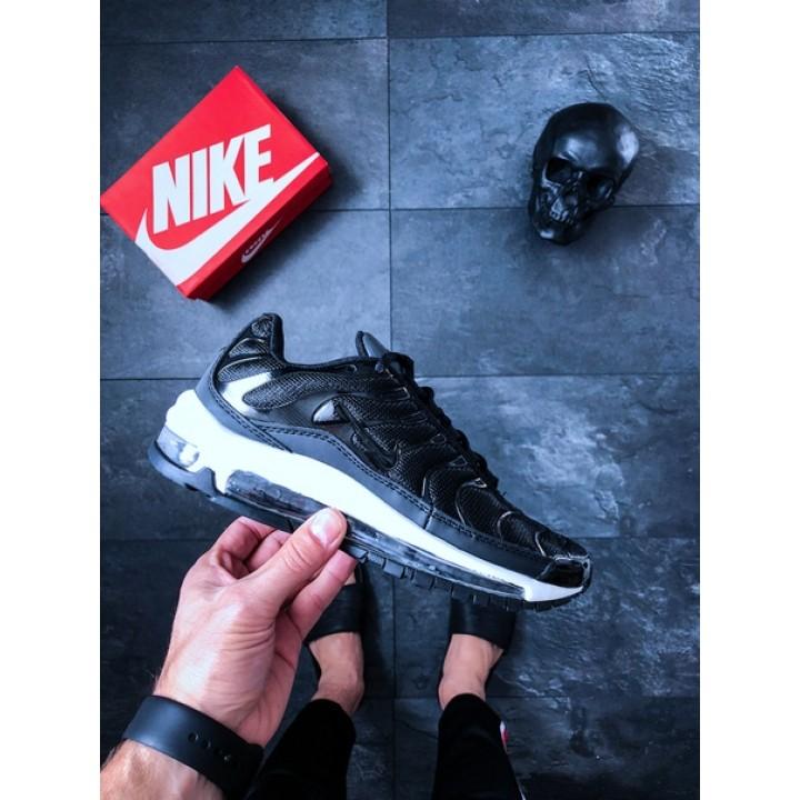 Мужские кроссовки NikeLab Air Max 97 Plus (Black / Anthracite - White)