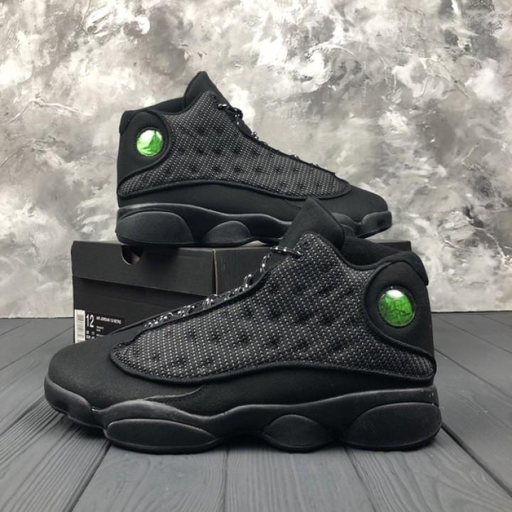 """Мужские кроссовки Nike Air Jordan Retro 13 """"Black Cat"""""""