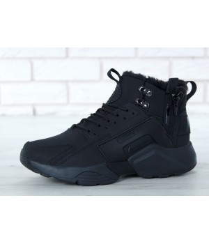 Мужские кроссовки Nike Huarache X Acronym City Winter Black