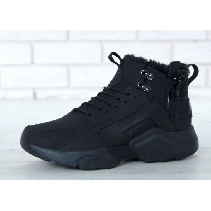 Мужские кроссовки Nike Huarache X Acronym City Winter Black