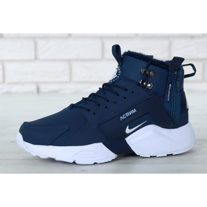Мужские кроссовки Nike Huarache X Acronym City Winter Blue