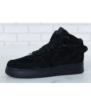 Мужские кроссовки Nike Air Force Winter Black