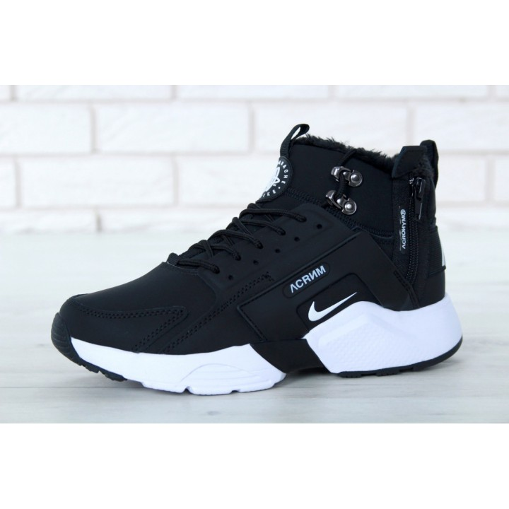 Мужские кроссовки Nike Huarache X Acronym City Winter Black/White