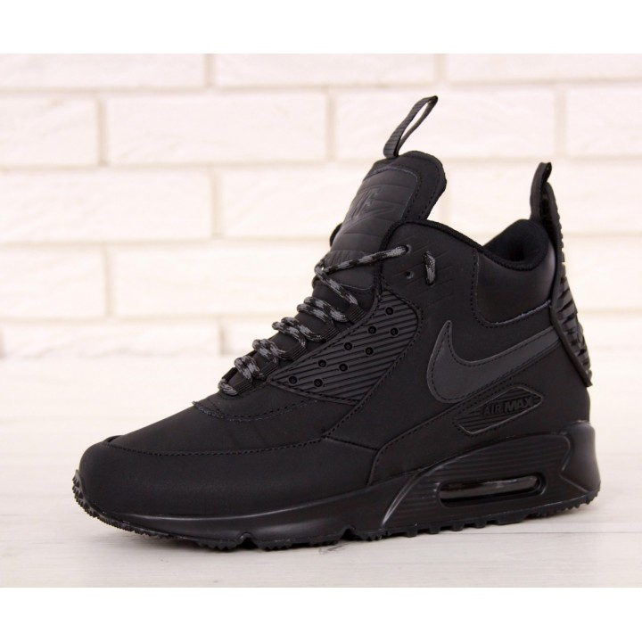 Мужские кроссовки Nike Air Max 90 Sneakerboot Winter Black
