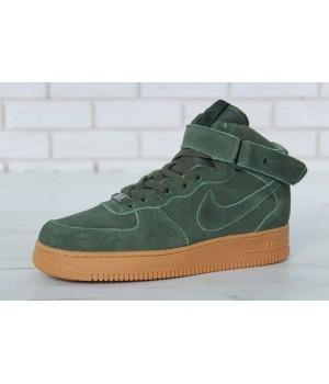 Мужские кроссовки Nike Air Force Winter Green