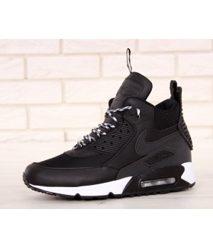 Мужские кроссовки Nike Air Max 90 Sneakerboot Winter Black/White