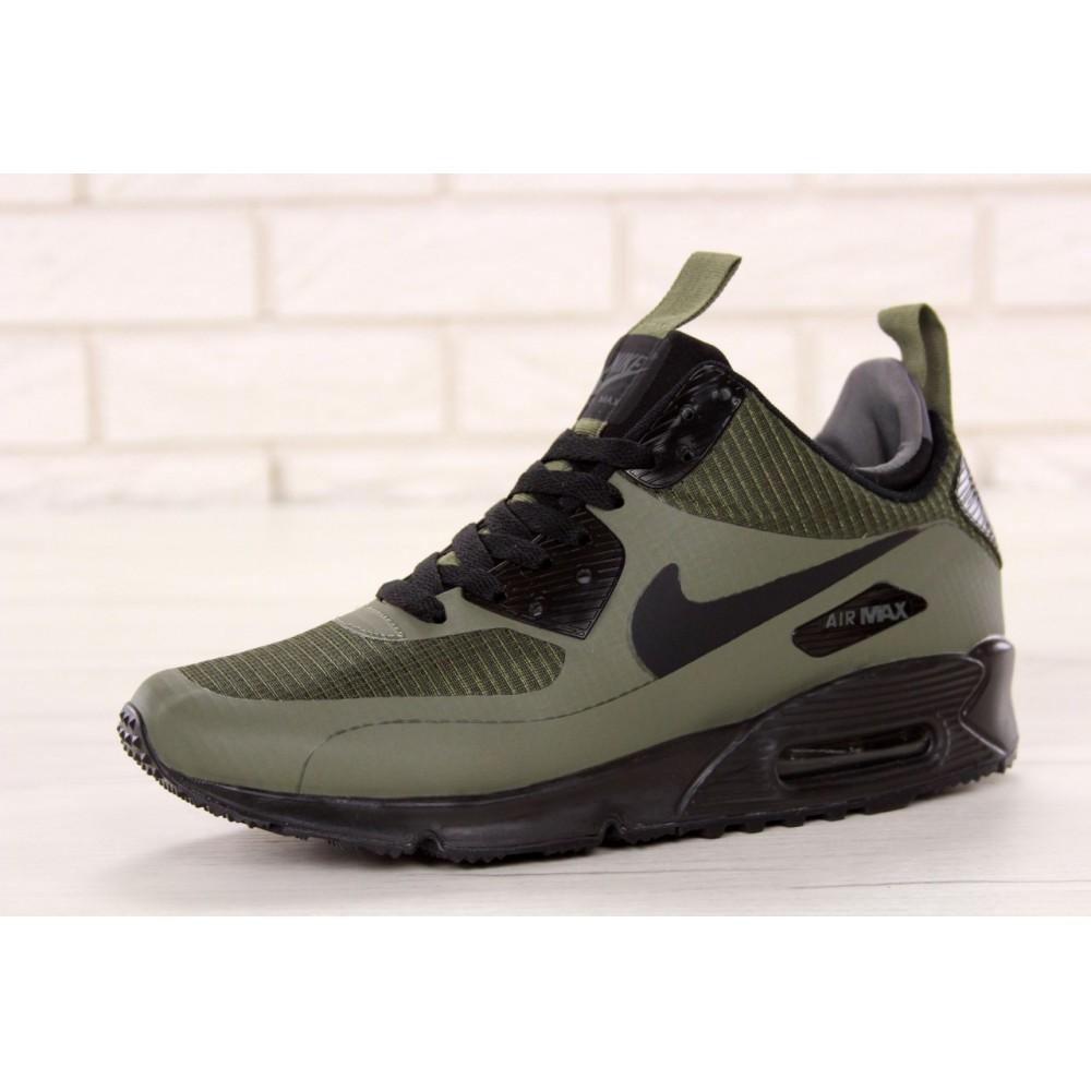 acd77d76c Мужские кроссовки Nike Air Max 90 Mid Winter Green 11679 от бренда ...