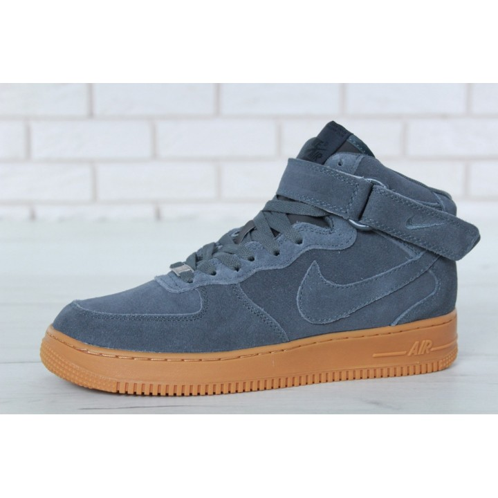 Мужские кроссовки Nike Air Force Winter Grey
