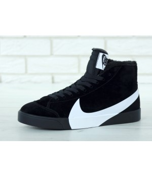 Мужские кроссовки Nike Blazer Winter Black
