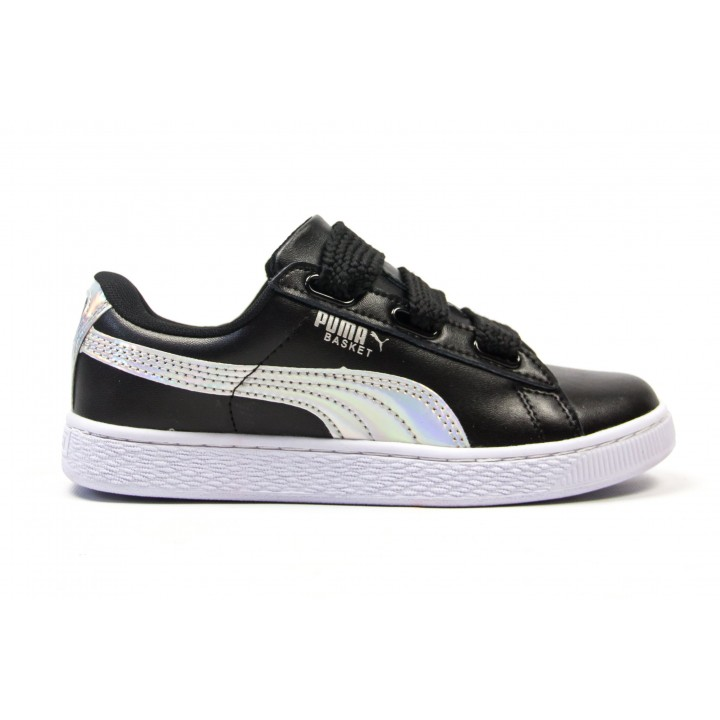 Кроссовки Puma Basket Heart Black