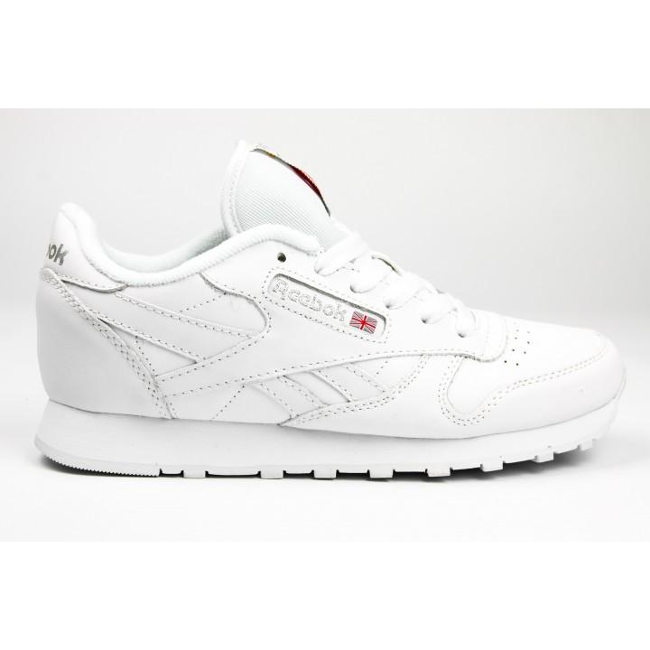 Кроссовки Reebok Classic Leather White