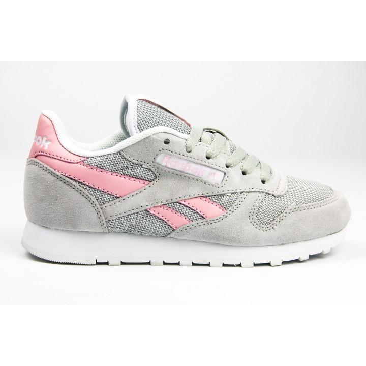 Кроссовки Reebok Classic Grey/Pink