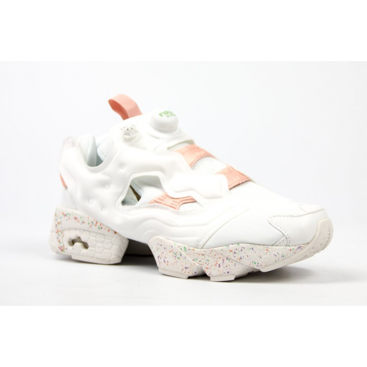 Кроссовки Reebok Instapump Fury White/Coral