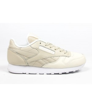 Кроссовки Reebok Classic Leather Beige