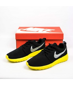 Кроссовки Nike Roshe Run Black/Yellow