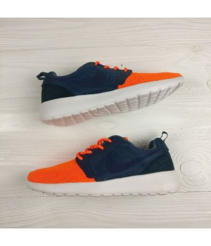 Кроссовки Nike Roshe Run Blue/Orange