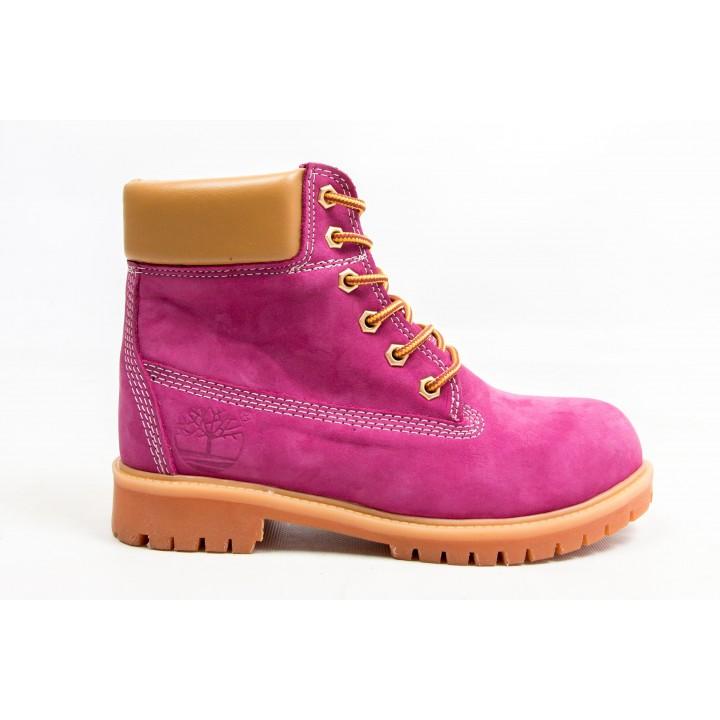 Ботинки Timberland Classic 6 inch Magenta