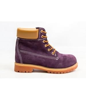 Ботинки Timberland Classic 6 inch Dark Violet