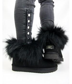 Ugg Australia Classic Mini Fur Black
