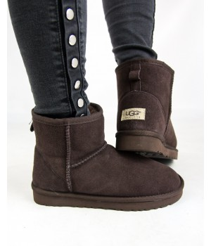 "UGG CLASSIC MINI II BOOT ""BROWN"""