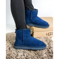 "UGG CLASSIC MINI II BOOT ""NAVY"""