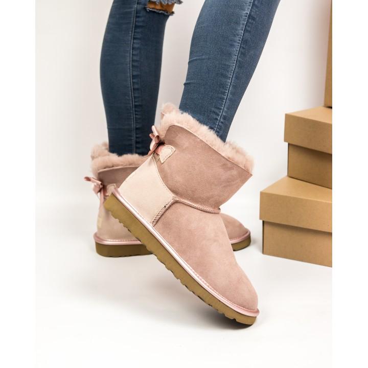 Ugg Australia W Mini Bailey Bow Pink