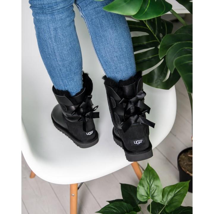 "UGG Originals Bailey Bow II Boot ""Black"""