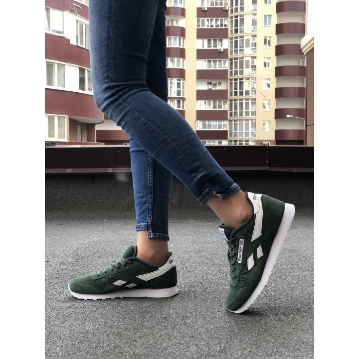 Кроссовки Reebok Classic  Green